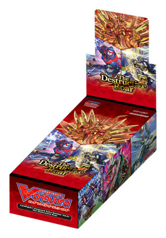 Cardfight Vanguard V Extra Booster Box Vol. 01: The Destructive Roar Booster Box | Spellbound Games