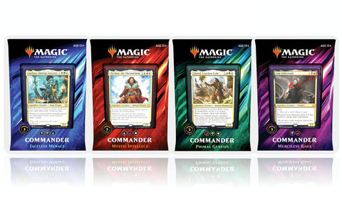 All 4 Commander 2019 Deck