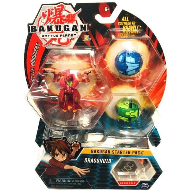 Bakugan Season 1 Starter Pack - Assorted | Spellbound Games