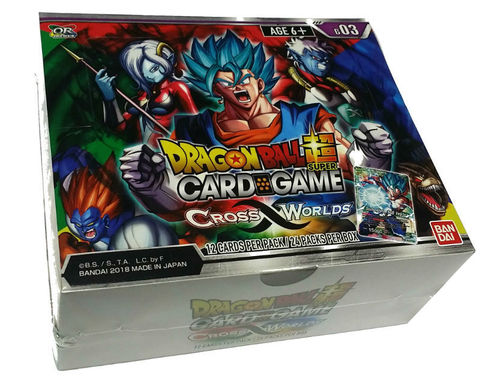 Cross Worlds Booster Box | Spellbound Games