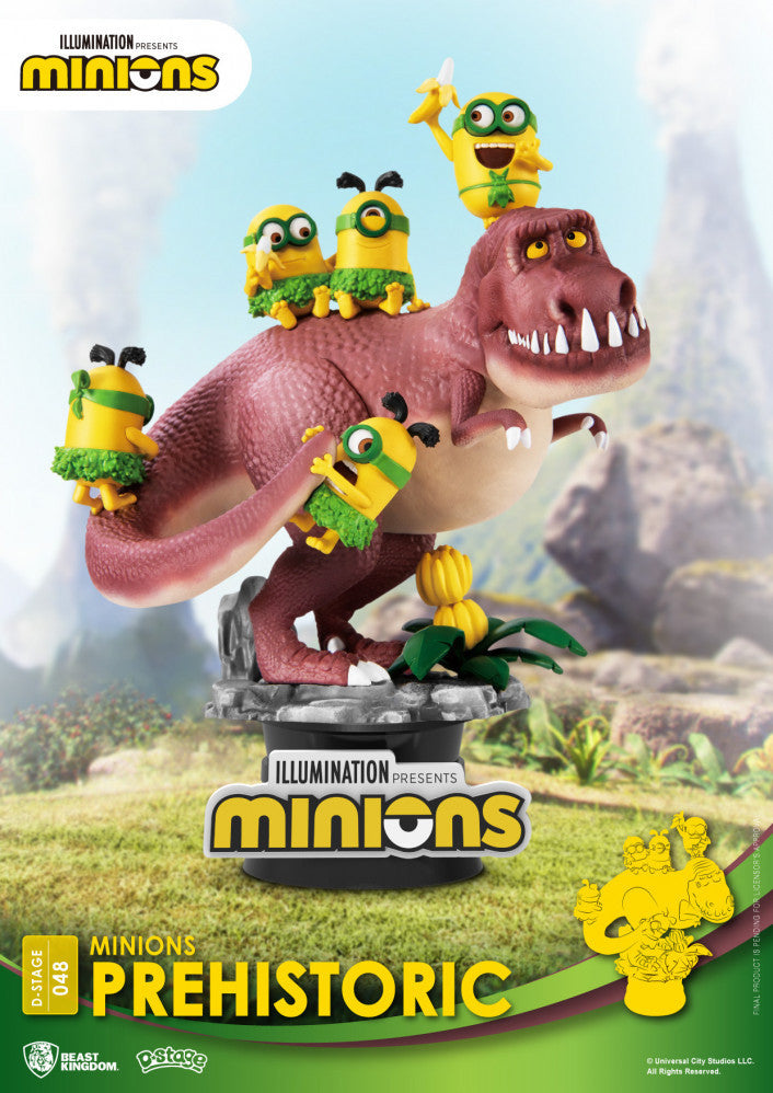 D Stage Minions Prehistoric | Spellbound Games