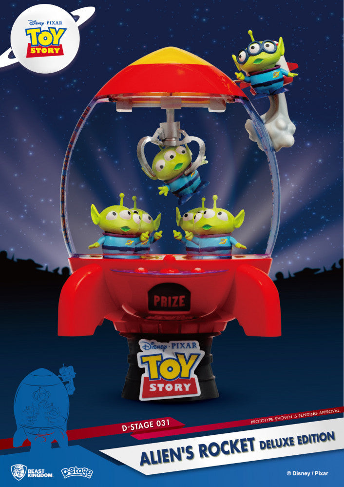 D Stage Toy Story Aliens Rocket Deluxe Edition | Spellbound Games