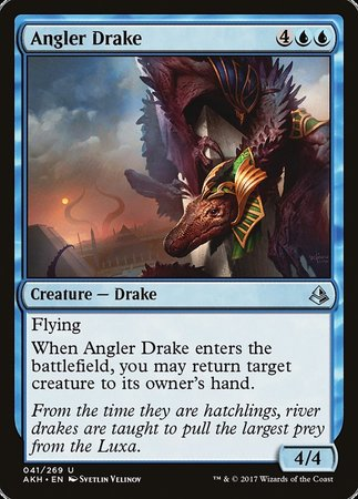 Angler Drake [Amonkhet]  | My Pop Culture | New Zealand