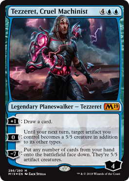 Magic 2019 Planeswalker Deck: Tezzeret | Spellbound Games