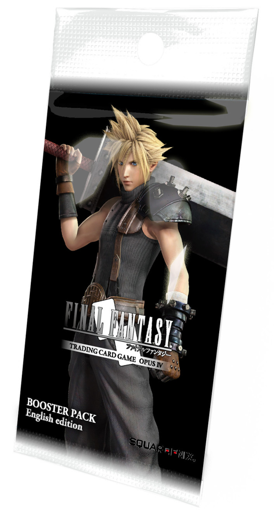 Final Fantasy Opus IV booster pack  | My Pop Culture | New Zealand