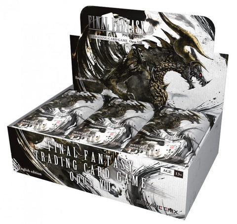 Final Fantasy Opus VIII Booster Box - With Promo (Preorder)