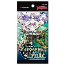 Cardfight Vanguard V Extra Booster Box Vol. 04: The Answer of Truth Booster Pack | Spellbound Games