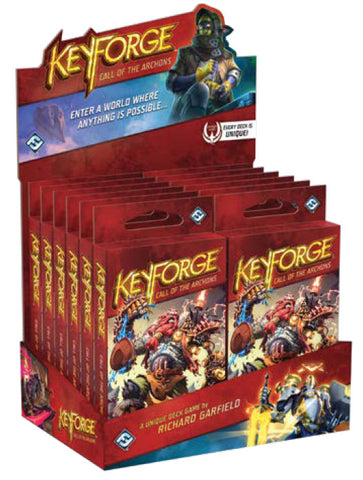 KeyForge - Call of the Archons! - Display Box (Nov 15) + Bonus Lanyard