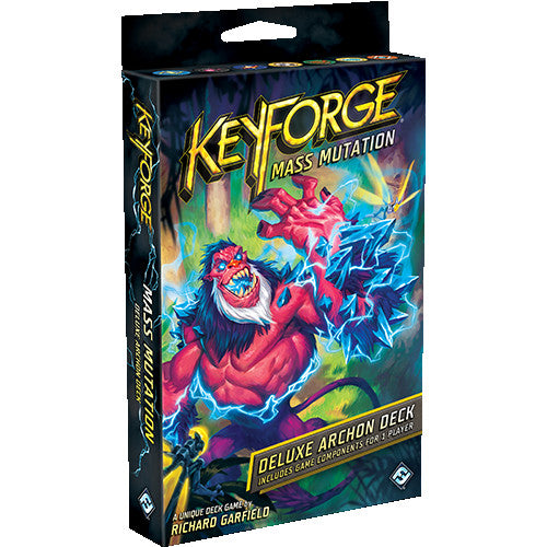 KeyForge - Mass Mutation Deluxe Deck | Spellbound Games
