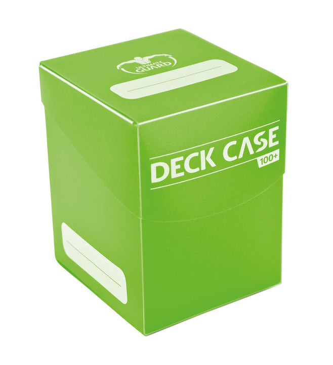 Ultimate Guard Deck Case 100+ Standard Size Light Green | Spellbound Games