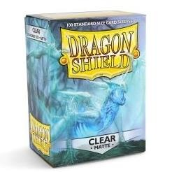 Dragonshield Standard Matte Clear (100ct) | Spellbound Games