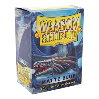 Dragonshield Standard Matte Blue (100ct)  | My Pop Culture | New Zealand