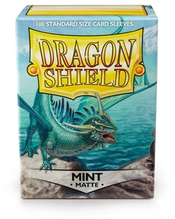 Dragonshield Standard Matte Mint (100ct) | Spellbound Games
