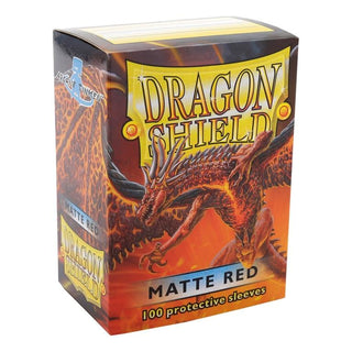 Dragonshield Standard Matte Red (100ct)  | My Pop Culture | New Zealand
