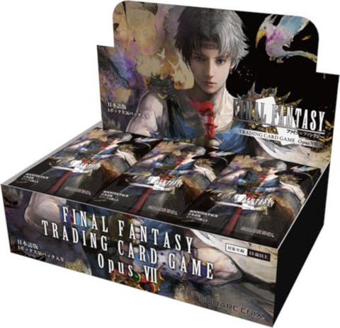 Final Fantasy Opus VII Booster Box - With Noctis Promo