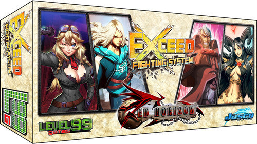 Exceed Fighting System Red Horizon REESE & Heidi Vs. Vincent & Nehtali | Spellbound Games