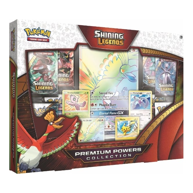 Shining Legends Super-Premium Collection Featuring Ho-Oh | Spellbound Games