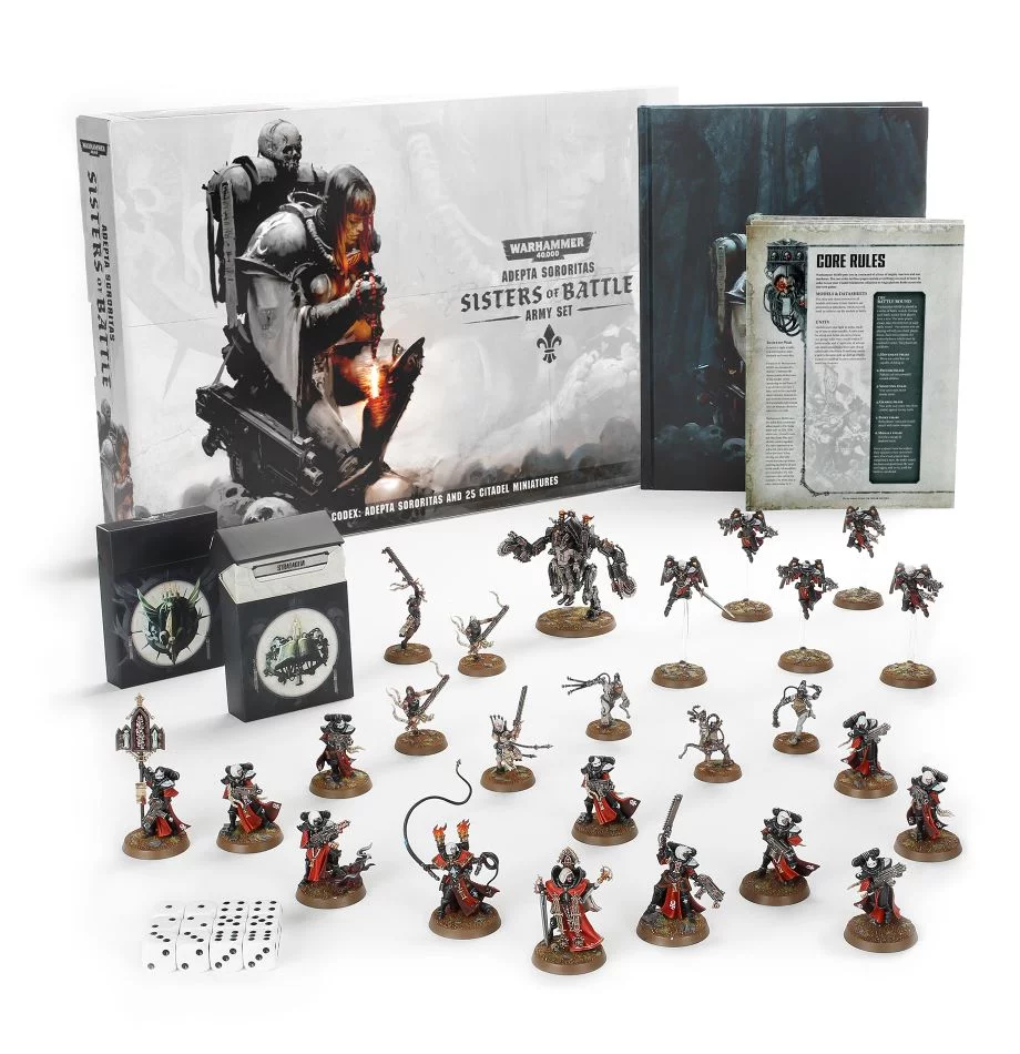 Adepta Sororitas: Sisters of Battle Army Set | Spellbound Games