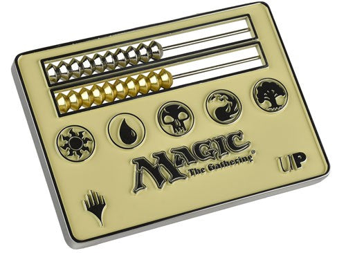 Abacus Life Counter Magic the Gathering - White (Card Size) | Spellbound Games