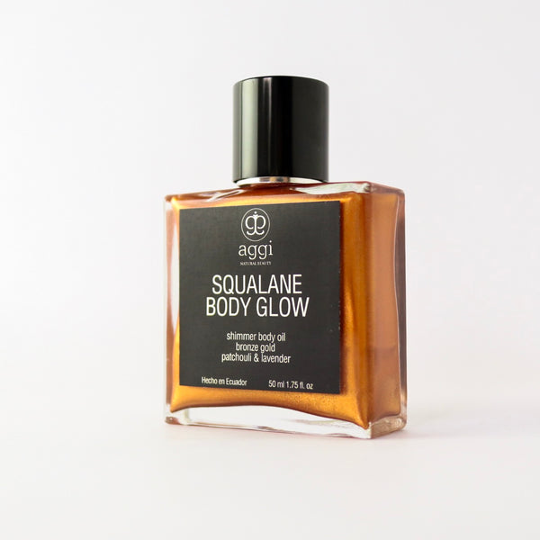 Squalane Body Glow, aceite corporal seco