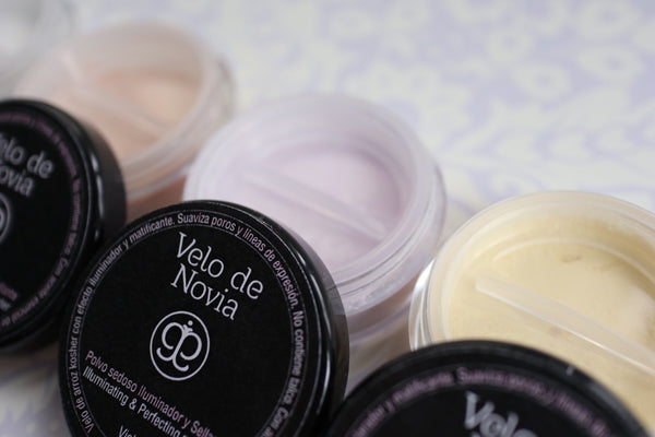 Velo de Novia loose translucent powder