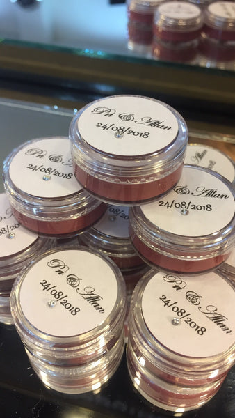 Aggi Lip lab lipstick jars (mini potes)