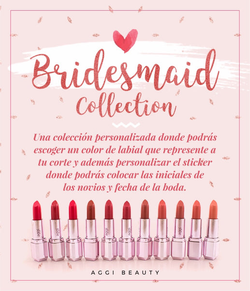 BRIDESMAID COLLECTION Aggi Lip Lab