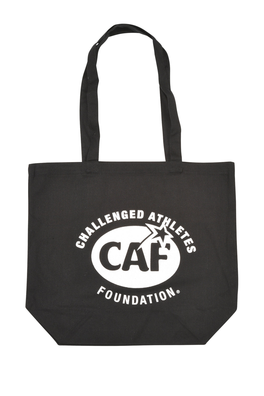 CAF/NYC Black Canvas Tote Bag