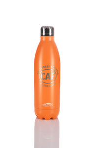 Orange Large Metal Water Bottle (25oz)