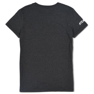 Black CAF Women's T-Shirt Back