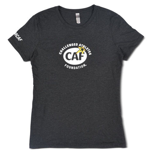 Black CAF Women's T-Shirt Front