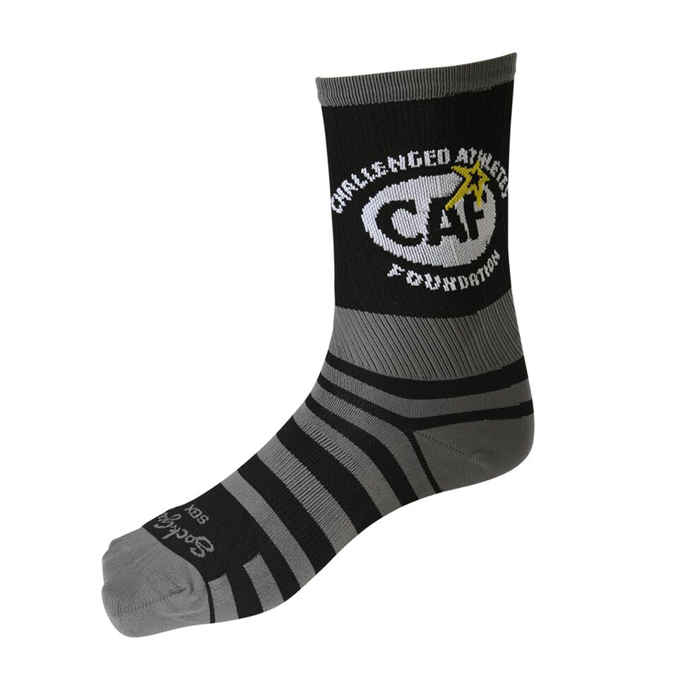 Black CAF Socks-Long
