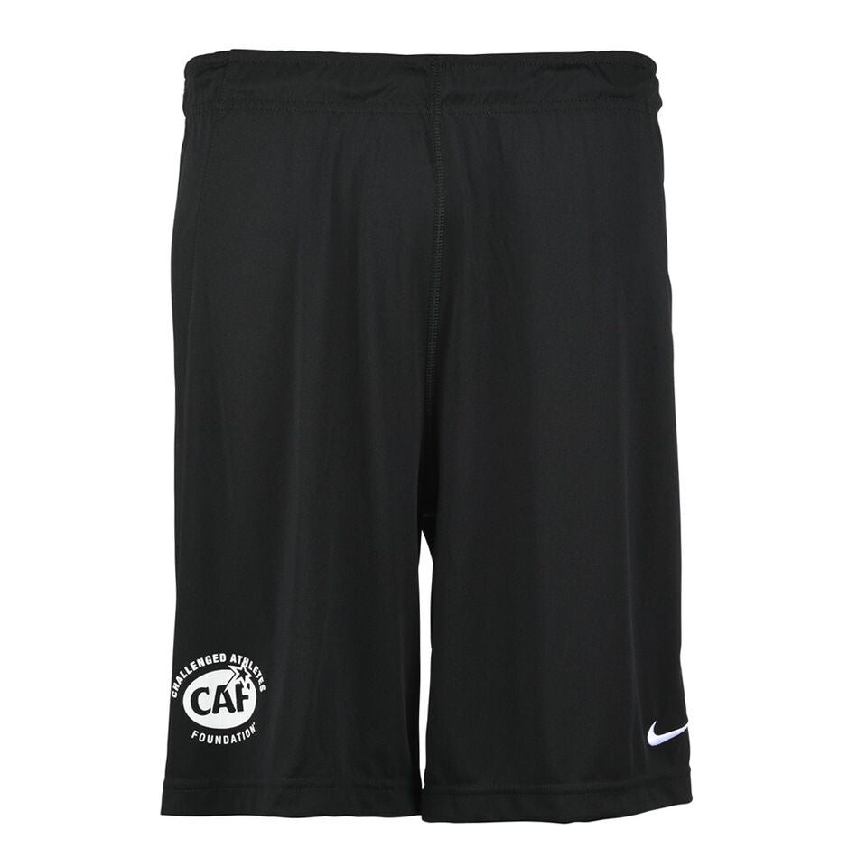 Black Nike Athletic Shorts Front