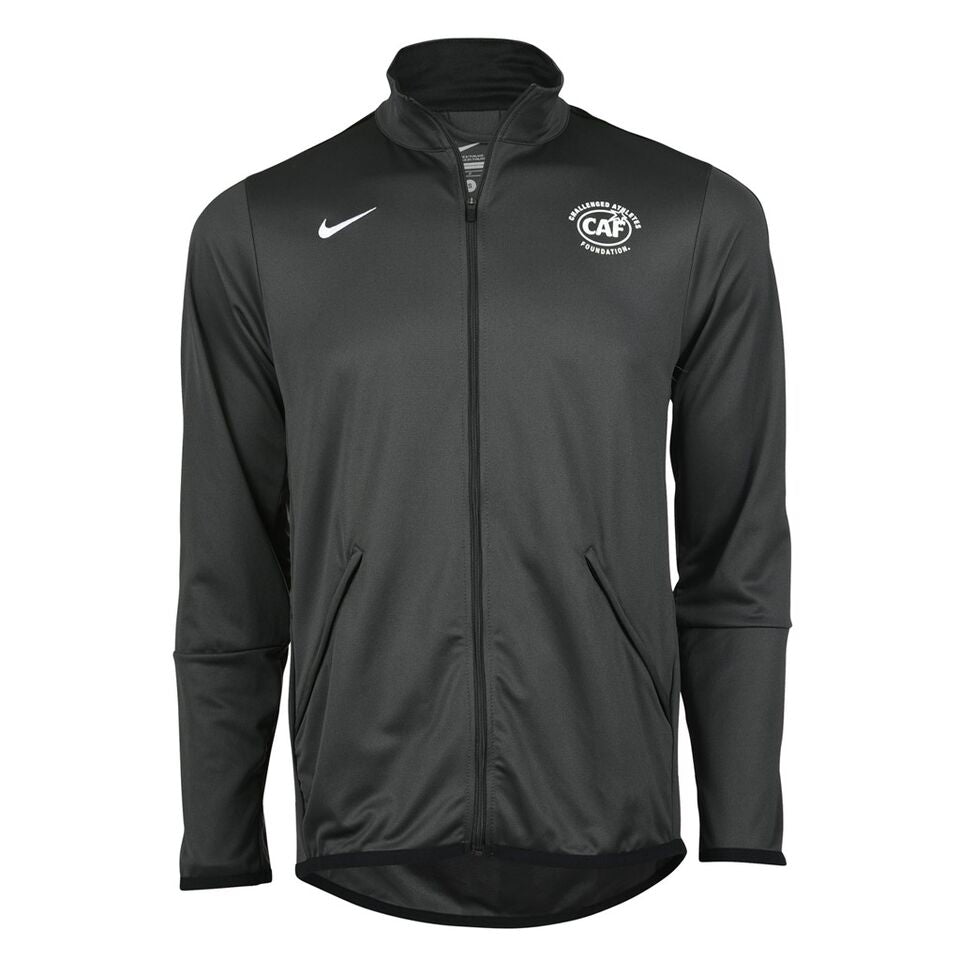 Black Nike Men's Jacket Front