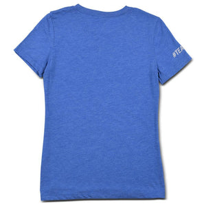 Blue CAF T-shirt Women's Back