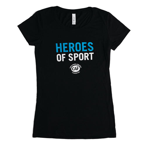 Heroes of Sport Women's T-shirt—Grant Gift