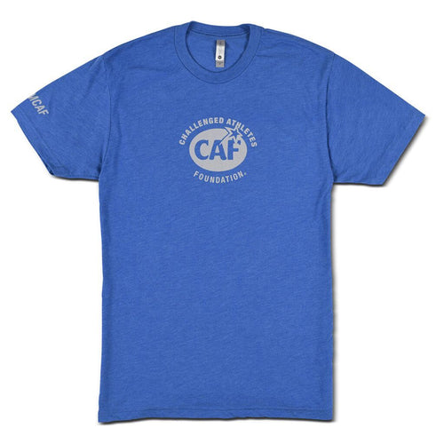 Blue CAF Men's T-Shirt Front