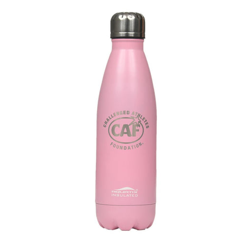 Pink Metal Water Bottle