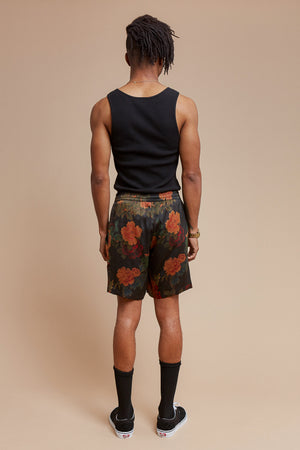 Black Dahlia Lounge Short