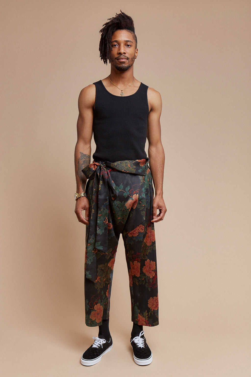 Black Dahlia Traditional Asian Pant