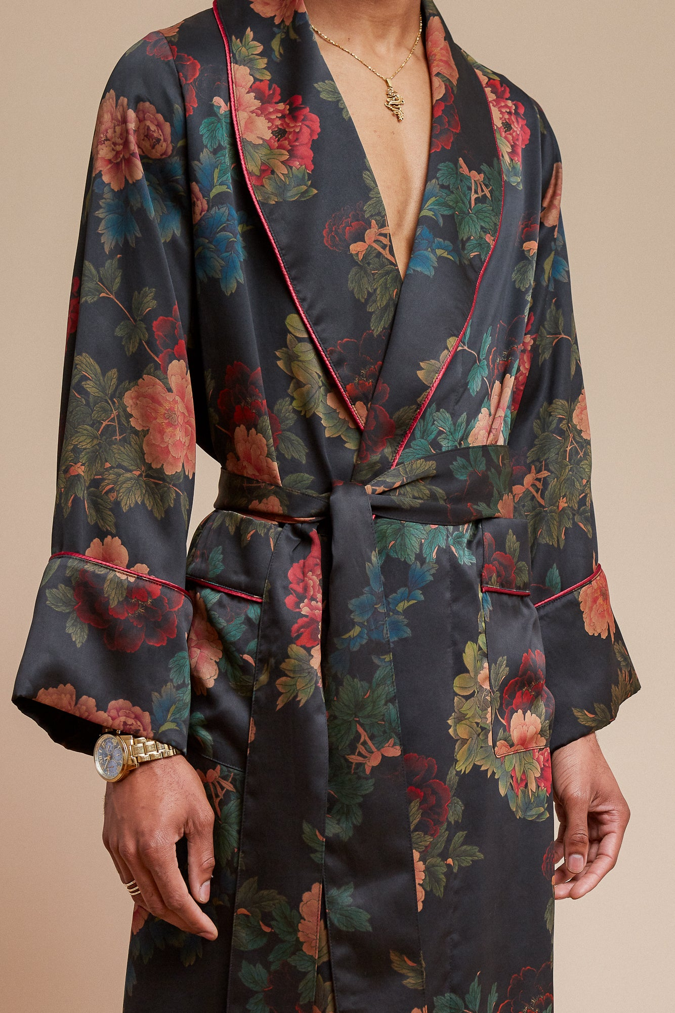 Black Dahlia William Robe