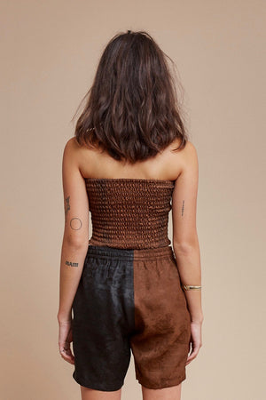 Brown Sugar Tube Top