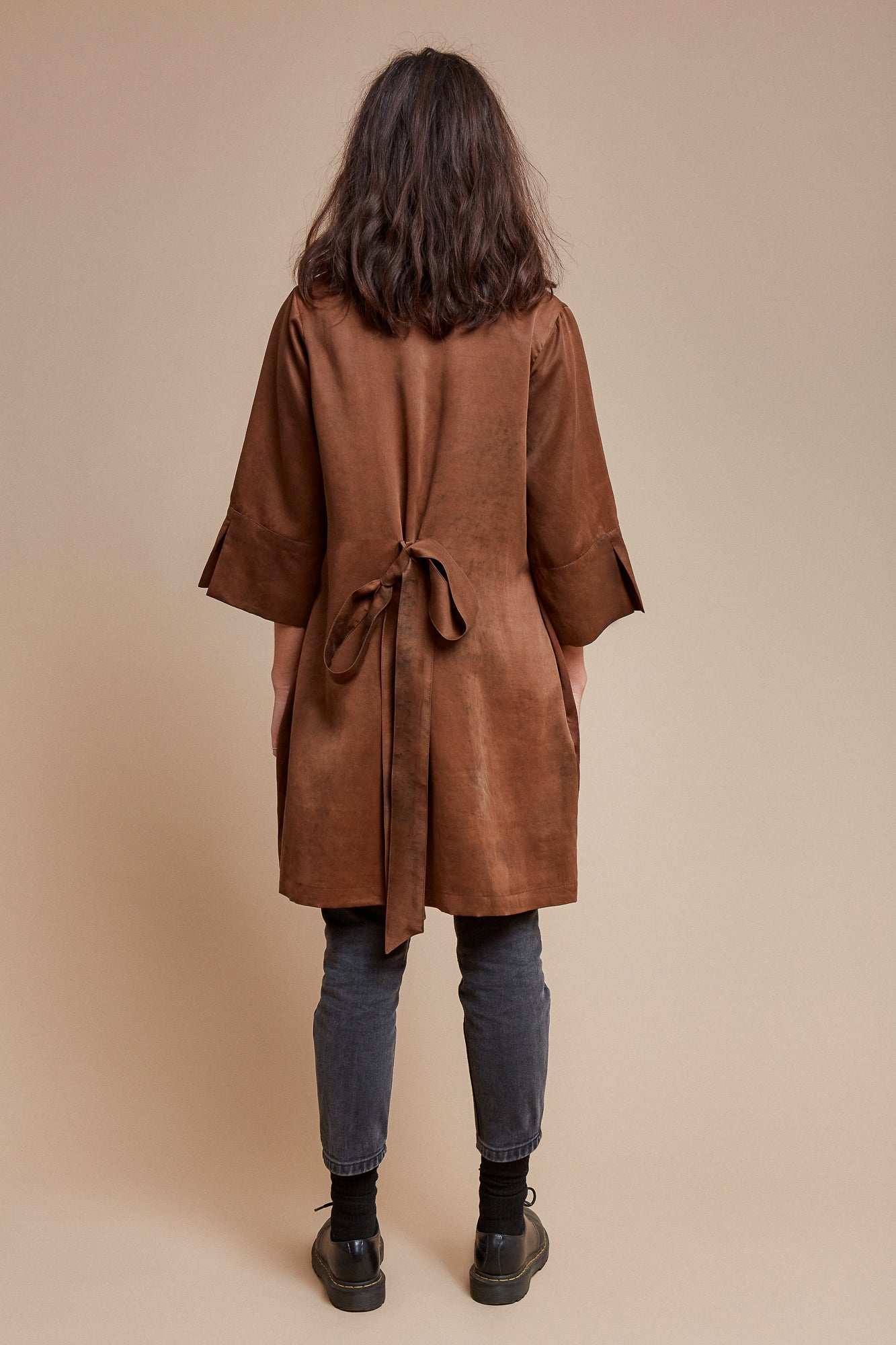 Brown Sugar Short Robe