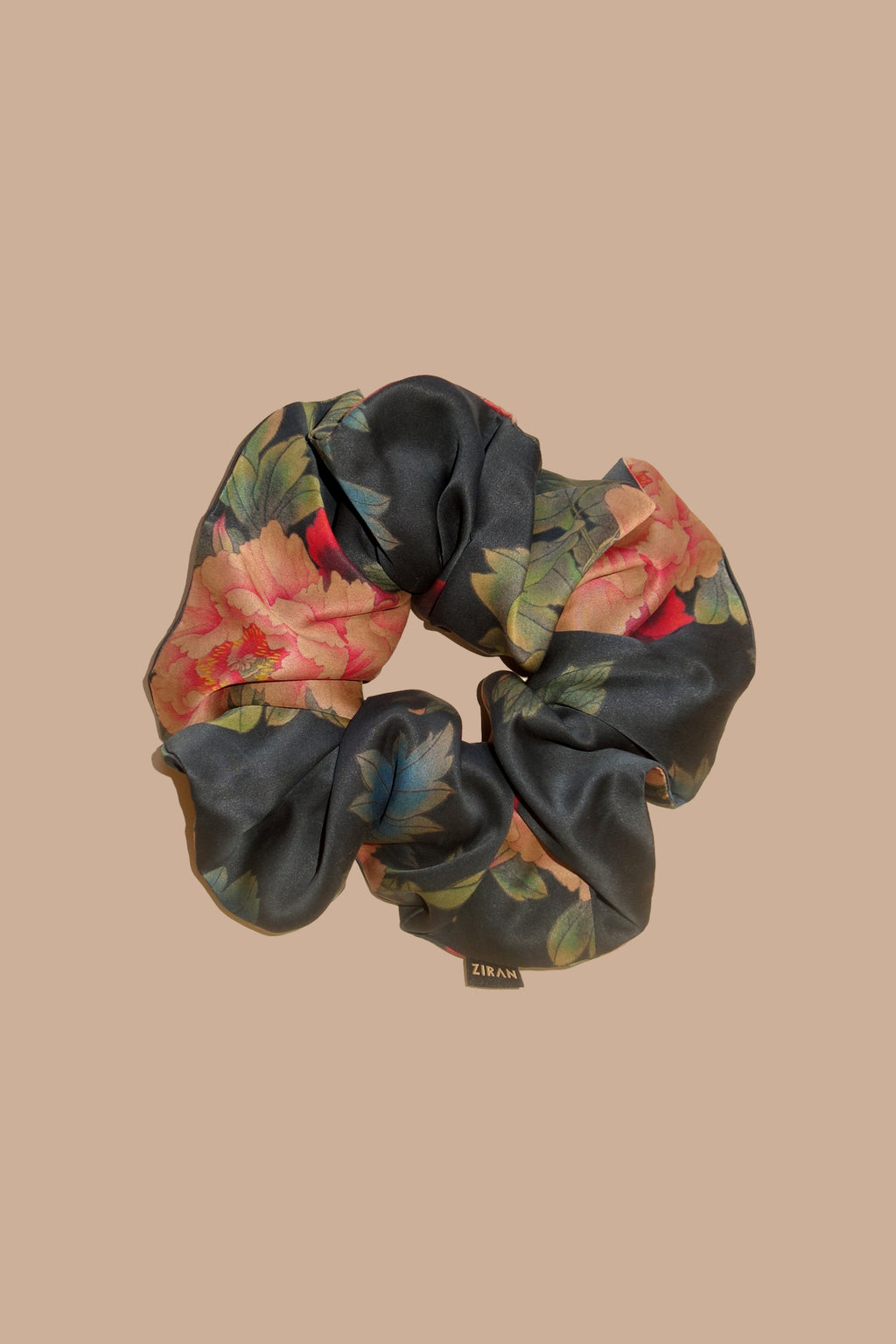 Black Dahlia Scrunchie