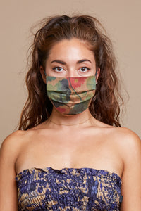 Lily Pad Reversible Facemask