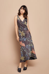 Ivy Ruched Slip Dress