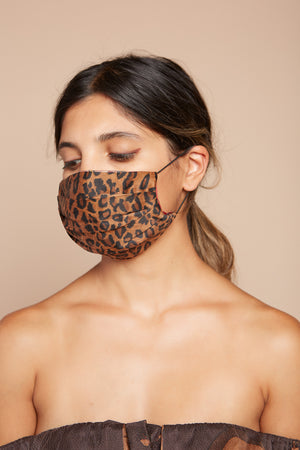 Leopard Reversible Facemask