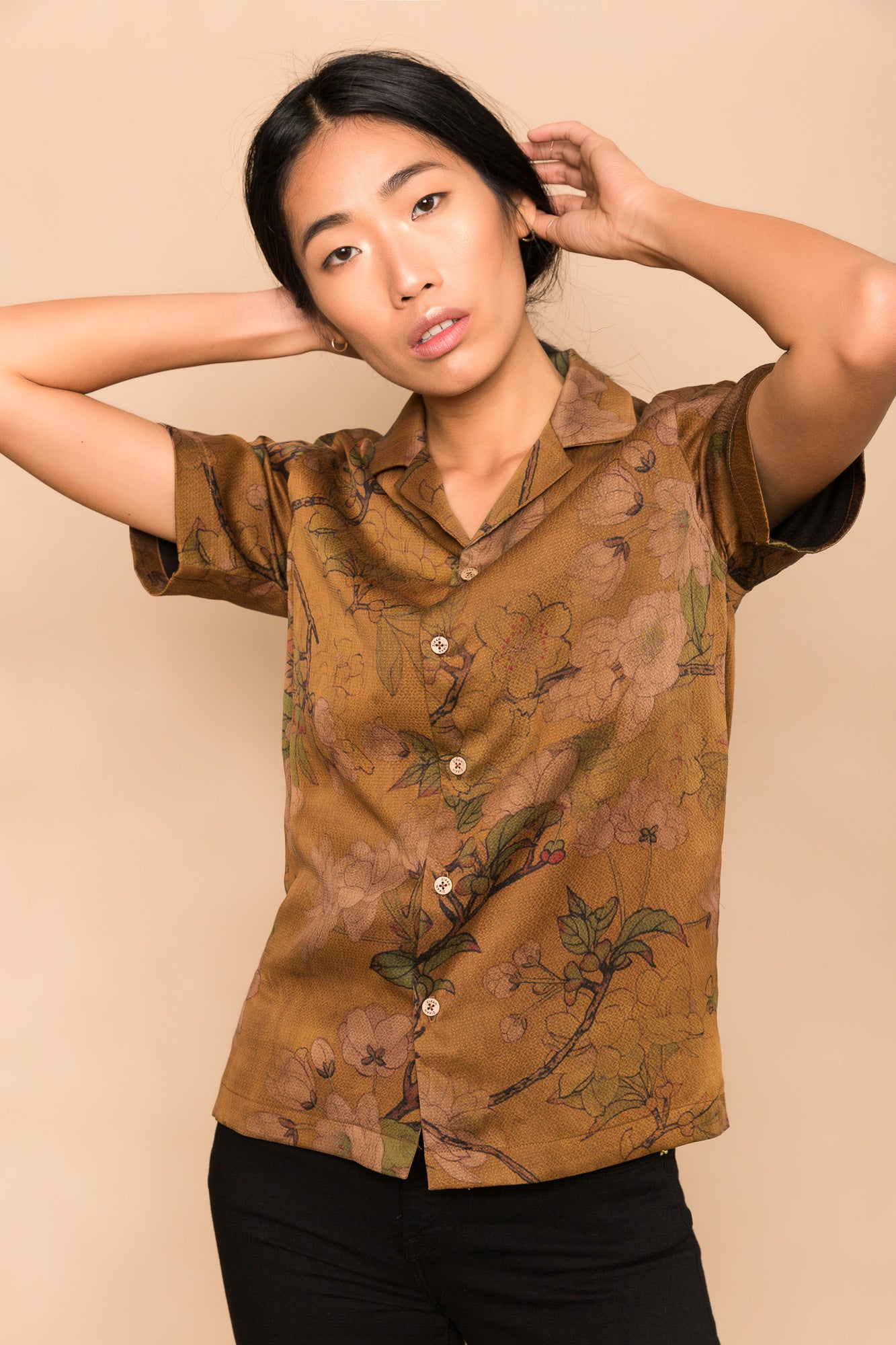 Marigold Camp Collar Shirt