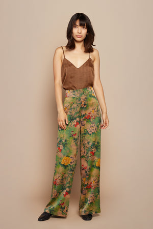 Rasta Flower Leisure Pant