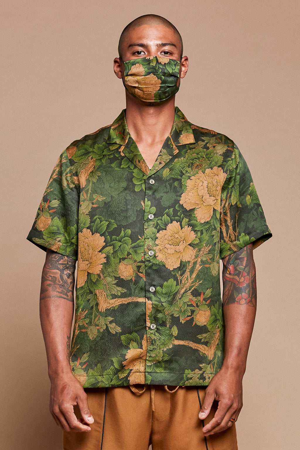 Jungle Camp Collar Shirt